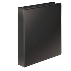 "Carpeta de 1"" con Cover, Negro - Wilson Jones"