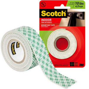 "Cinta Adhesiva Doble Cara 1""x 50"" - Interior (Scotch #114)"