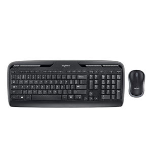 Teclado + Mouse Wireless - Logitech MK320